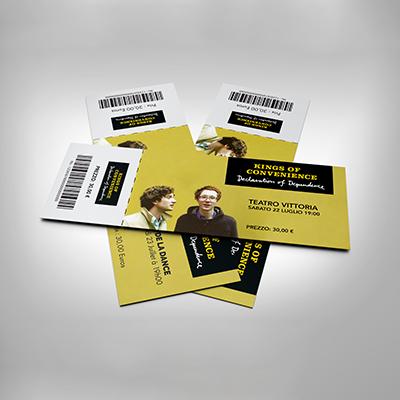 stampa biglietto concerto spettacolo