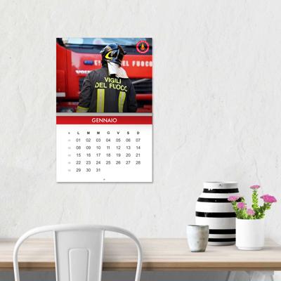 Calendari da parete spillati