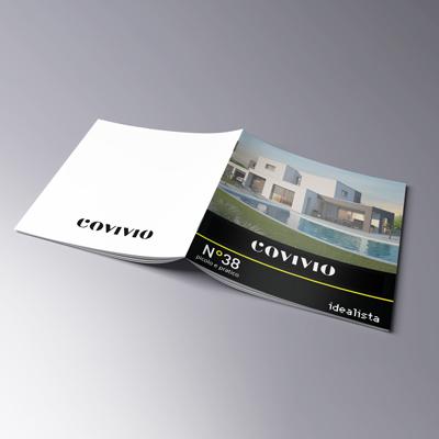 stampa rivista punto metallico