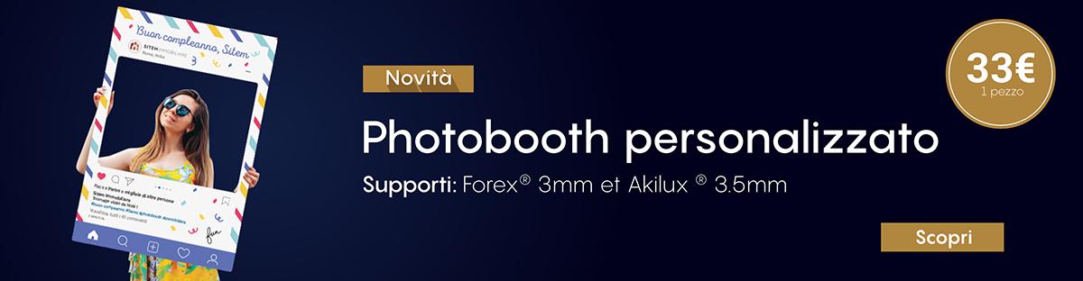 Photobooth personalizzato