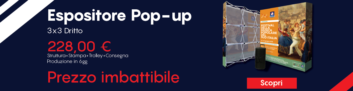 Espositore pop-up